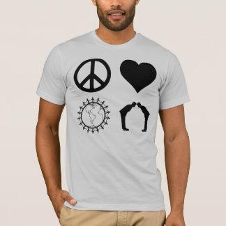 Symbologie de PLUR (chemise légère) T-shirt