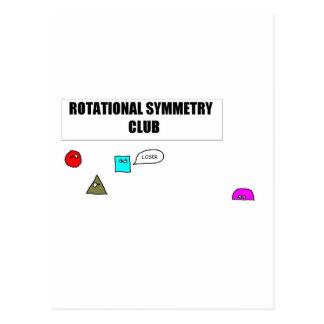 Symétrie de rotation carte postale