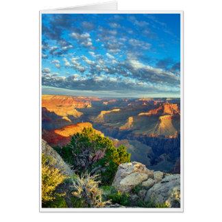 Sympathie - canyon grand carte de vœux