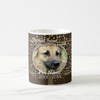 Sympathie faite sur commande d'animal familier mug