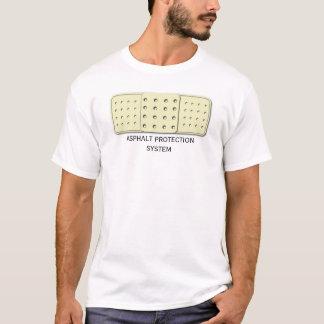 Système de protection d'asphalte t-shirt