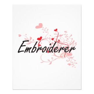 Système de travail artistique d'Embroiderer avec Prospectus 11,4 Cm X 14,2 Cm
