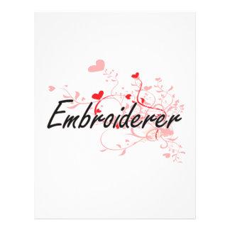 Système de travail artistique d'Embroiderer avec Prospectus 21,6 Cm X 24,94 Cm