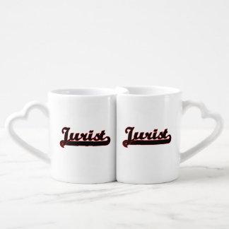 Système de travail classique de juriste mug