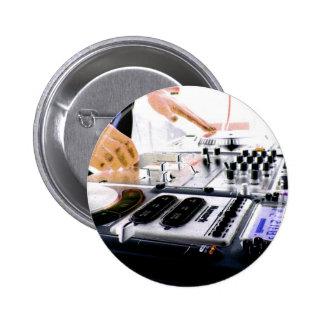 SYSTÈME DU DJ BADGE AVEC ÉPINGLE