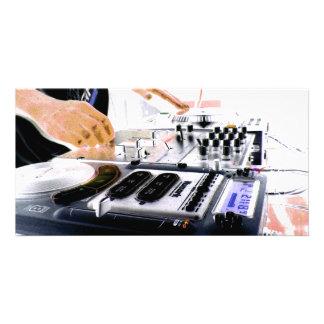 SYSTÈME DU DJ CARTES DE VŒUX AVEC PHOTO