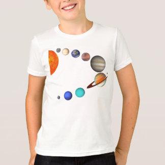 Système solaire t-shirt