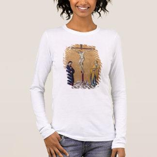 T28723 la crucifixion (panneau) t-shirt à manches longues