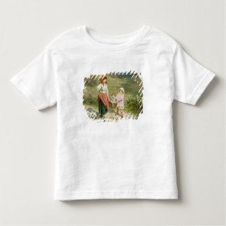 T33572 au marché, pour acheter un gros porc t-shirt pour les tous petits