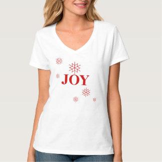 T-Chemise-Joie des vacances des femmes T-shirt
