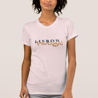 T des dames de Lisbonne Portugal T-shirt