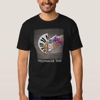 T du DK des hommes de masque de musique T-shirt