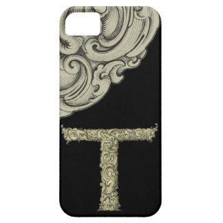 T - L alphabet de Falck d or Coques iPhone 5
