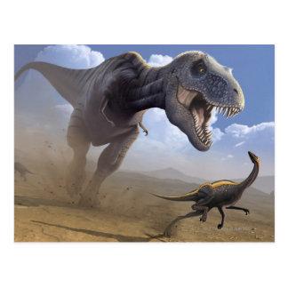 T Rex Carte Postale
