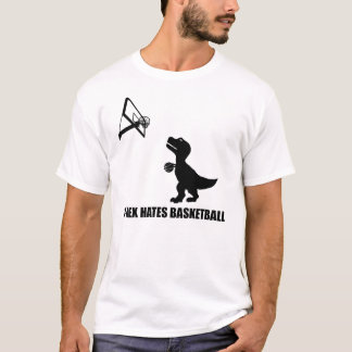 T-Rex déteste le T-shirt de basket-ball