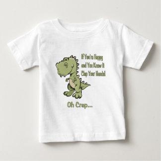 T-Rex heureux T-shirt Pour Bébé