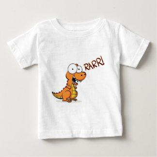 T-rex hurlant t-shirt pour bébé