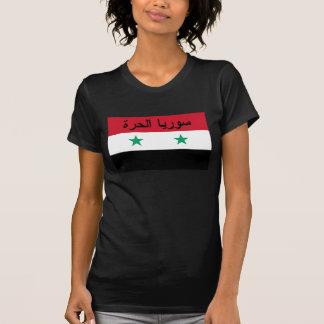 T-shirt سورياالحرة libre de drapeau de la Syrie - Syrie