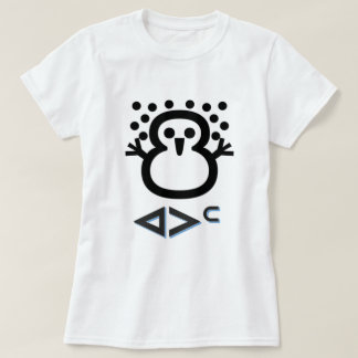 T-shirt ᐊᐳᑦ - neige dans l'Inuit