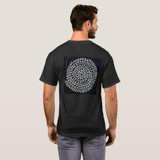 T-SHIRT ダークを背景色にした「算数曼荼羅」シャツ