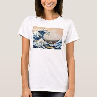 T-shirt 神奈川沖浪裏, grande vague de 北斎, Hokusai