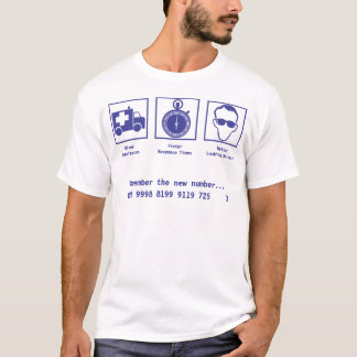 T-shirt 01189998819991197253 (blanc)