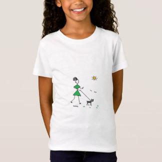 T-Shirt 012 marchant le chien