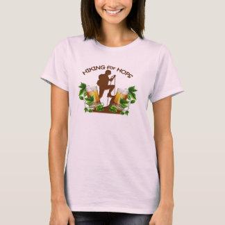 T-shirt (05) Le randonnée pour la pièce en t de base de la