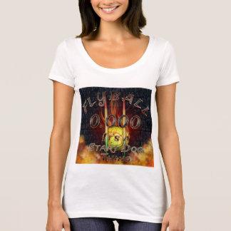 T-shirt 0,000 Flyball Flamz : C'est une chose de chien de