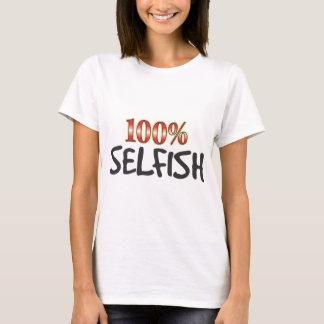 T-shirt 100 pour cent égoïstes