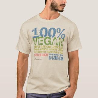 T-SHIRT 100% VEGAN -/