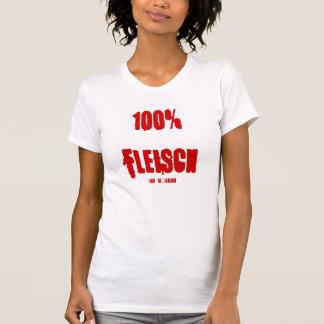 T-shirt 100% viandes, - détaché heureusement