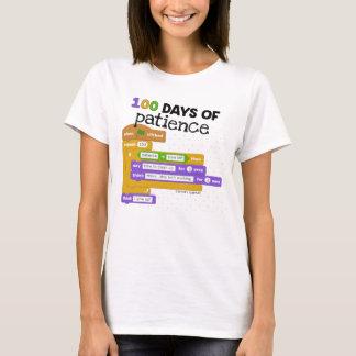 T-shirt 100th Jour du codage d'école