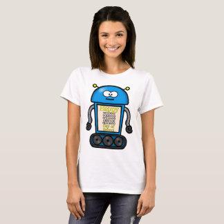 T-shirt 100th jour heureux de binaire d'école