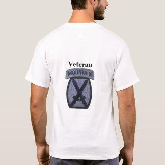 T-shirt 10ème Vétérinaires de vétérans de Division de
