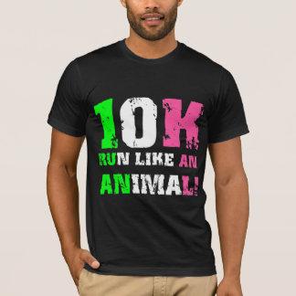 T-shirt 10K drôle