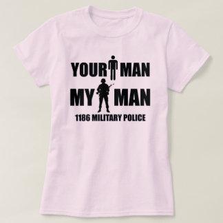T-shirt 1186 polices militaires - votre homme - mon homme
