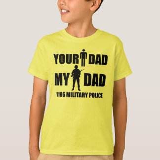 T-shirt 1186 polices militaires - votre papa - mon papa