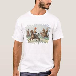 T-shirt 12ème Lancers royal (la semaine au-dessus de