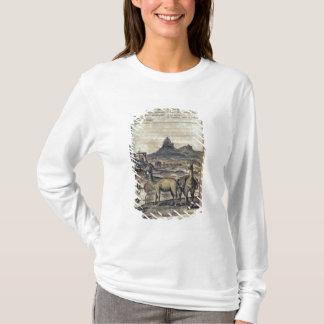 T-shirt 137-0627924 illustration d'une histoire du Pérou