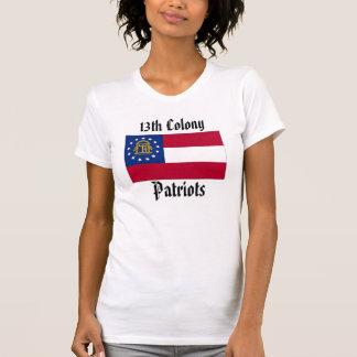 T-shirt 13ème Femmes de patriotes de colonie - GA outre de