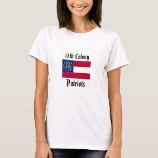 T-shirt 13ème Patriotes de colonie - femmes adaptées