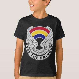 T-shirt 142nd Régiment d'aviation - au-dessus de