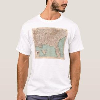 T-shirt 14546 arche, Tenn, La, Mlle, Fla, aile du nez, GA,