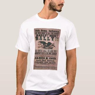 T-shirt 14ème Affiche de recrutement d'infanterie du
