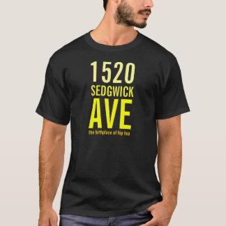 T-shirt 1520 avenue de Sedgwick - le lieu de naissance du
