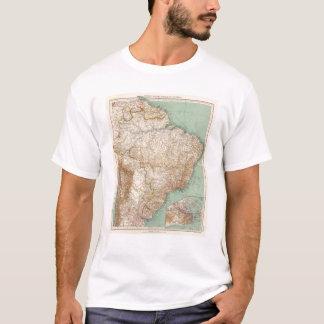 T-shirt 15556 Brésil, Bolivie, Paraguay, Guyane