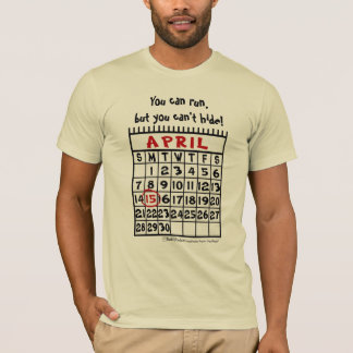 T-shirt 15 avril - humour d'impôts