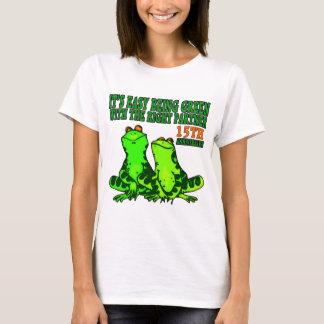 T-shirt 15ème Cadeaux d'anniversaire de mariage