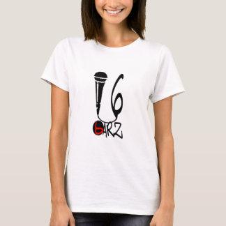 T-shirt 16 femmes blanches de pièce en t de Barz